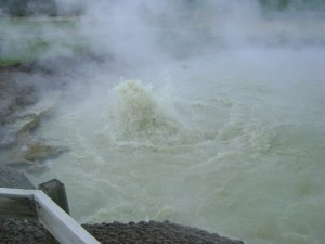 Boiling, Churning, Water